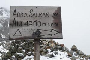 Abra Salkantay Nevado
