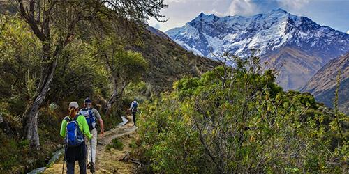 Portada del Camino Inca por Salkantay