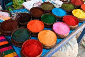 Tintes andinos en Chinchero