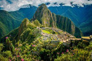 Vista a Machu Picchu