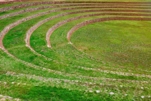 Moray laboratorio de cultivo inca