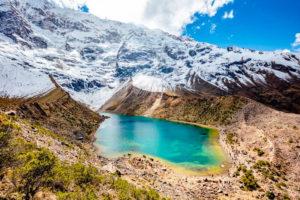 Laguna Humantay y nevado