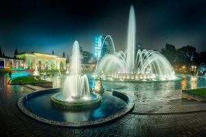 Parque de las Aguas o Circuito Mágico del Agua