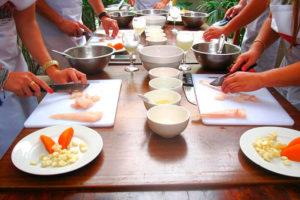 Clases demostrativas de cocina peruana