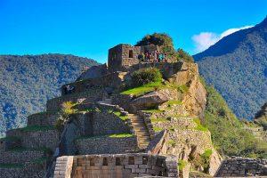 Ruinas en Huayna Picchu
