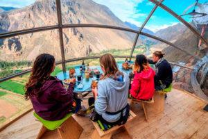 Almuerzo en el Skylodge - Valle Sagrado de los Incas