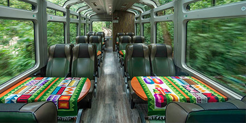 Portada del Tour en Tren PeruRail Vistadome