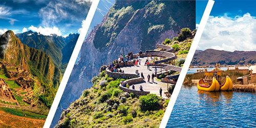 Portada del Tour Lima Cañon del Colca y Machu Picchu