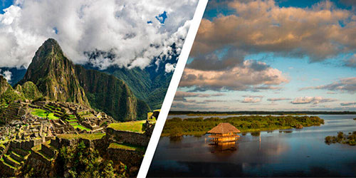 Portada del Tour Machu Picchu y Amazonas