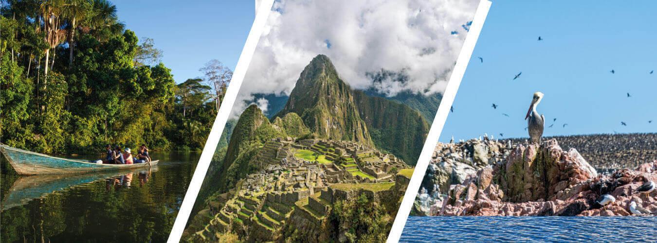 Machu Picchu y Selva Peruana - Tambopata