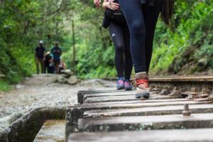 Camino a Machu Picchu por la vía férrea